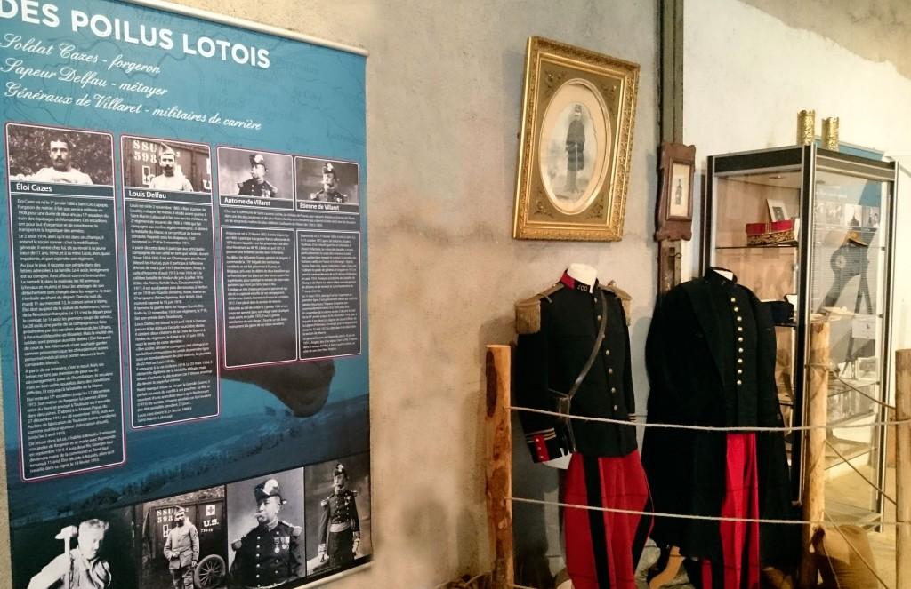 Photo de l'exposition 1914-1918 Cahors et le Lot dans la Première guerre mondiale