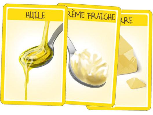 """Croc'Saisons - Cartes """"matières grasses"""""""