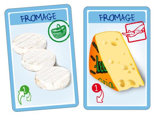 """Croc'Saisons - Cartes """"produit laitiers"""""""