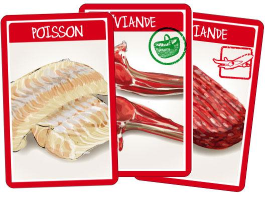 """Croc'Saisons - Cartes """"protéines"""""""