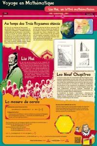 Panneau Liu Hui, voyage au temps des Trois Royaumes chinois