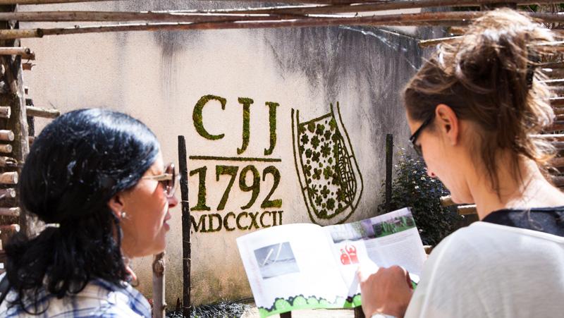 Tourisme Vert Green Tag Invasion - CAHORS JUIN JARDIN 2013