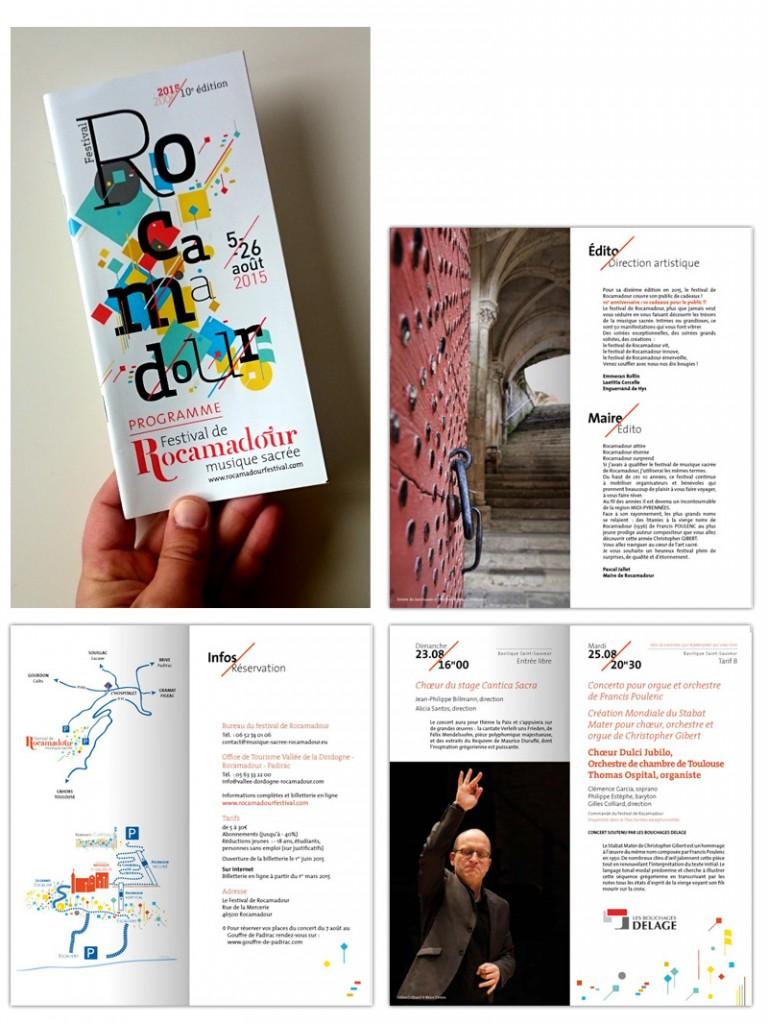 Programme de l'édition 2015 du Festival de Rocamadour