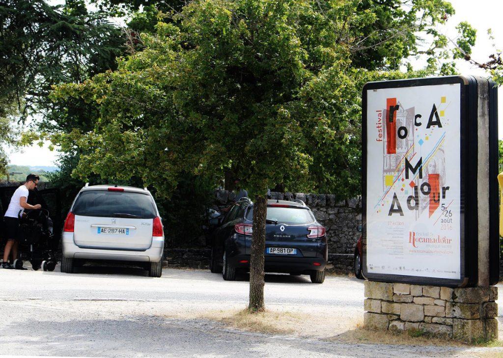 Affiche 2016 grand format du Festival de Rocamadour