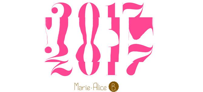 Vœux 2017 Marie Alice B.