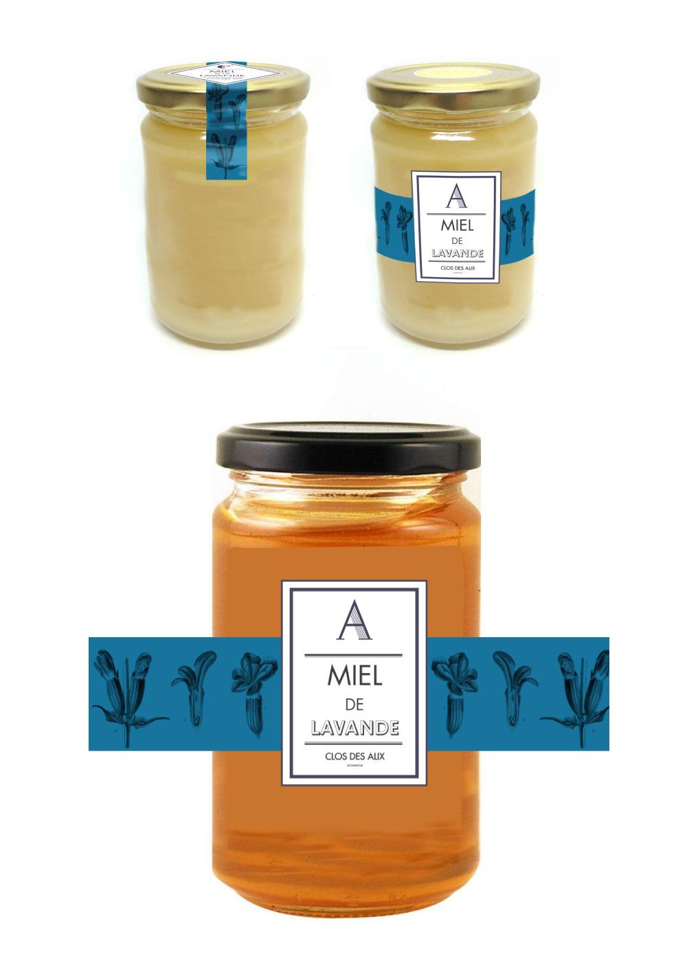 Miel à la lavande Ferme des Alix à Rocamadour