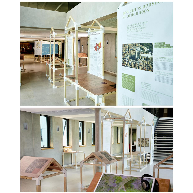 Photos de l'expo Bastide des villes neuves en quercy