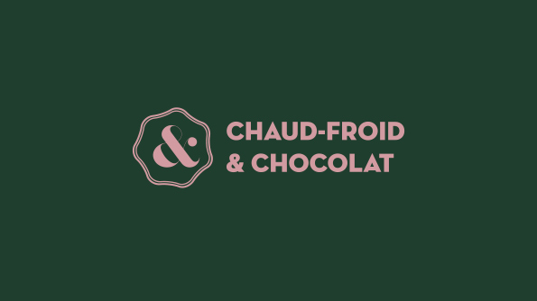 logo horizontale de Chaud Froid et Chocolats - plaqueminier