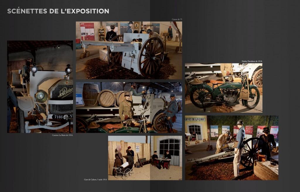 Photos de l'exposition Cahors et le Lot dans la Grande Guerre 1914-1918