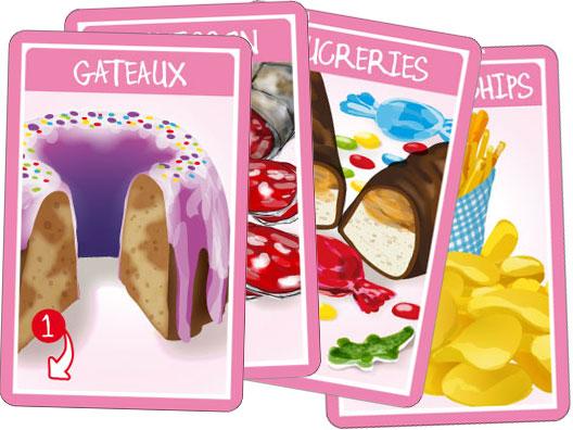 """Croc'Saisons - Cartes """"friandises"""""""