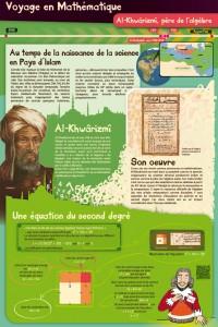 Panneau Al-Khwârizmi, voyage au temps de la science en Pays d'Islam