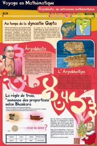 Panneau Âryabhata, voyage au temps de la dynastie Gupta