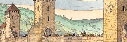 "Raconte- Moi Cahors <span class=""smallerTitle""> au Moyen Âge</span>"