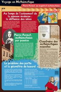 Panneau Fermat, voyage au temps de l'avènement de la science moderne : la diffusion des idées