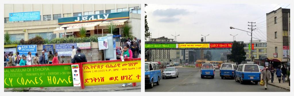 Photo-montages des banderoles