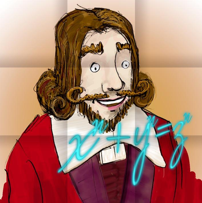 Pierre Fermat, célèbre mathématicien du XVIIe siècle, natif de Beaumont-de-Lomagne