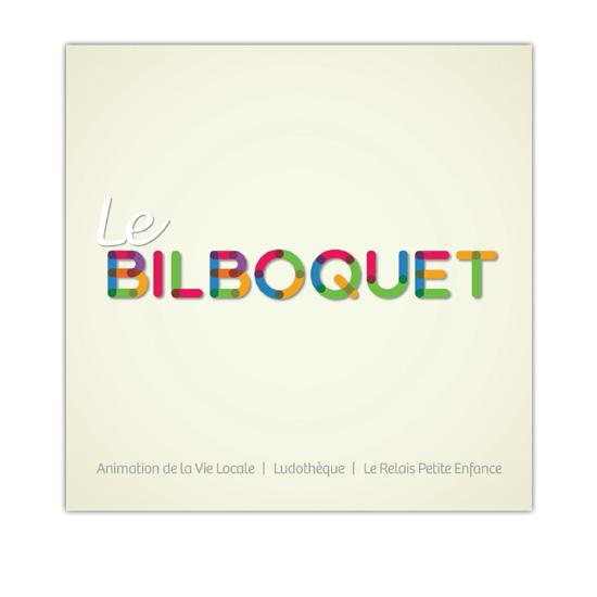 Couverture de la plaquette de présentation de l'association Le  Bilboquet