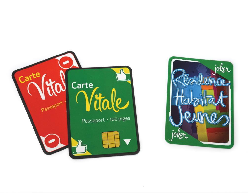 La santé : la carte vitale, un passeport pour jouer !