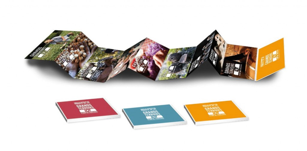 Set de cartes Postales filières de production du Département du Lot