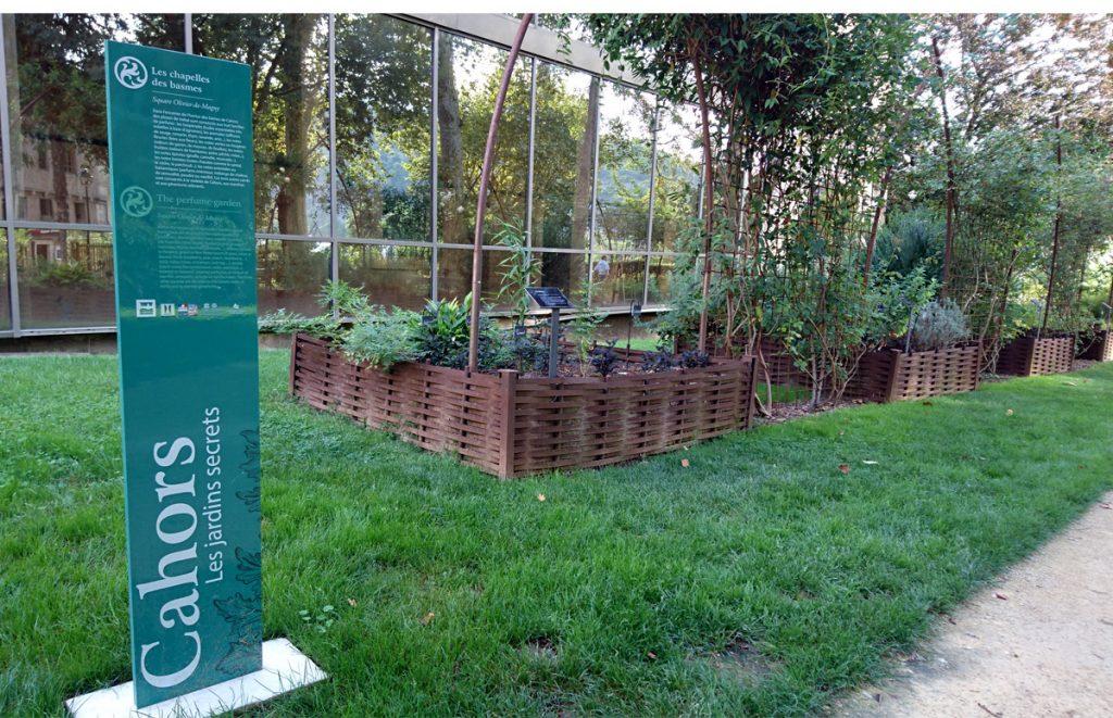 Jardins Secrets, parc Olivier de Magny à Cahors - Les Chapelles des basmes