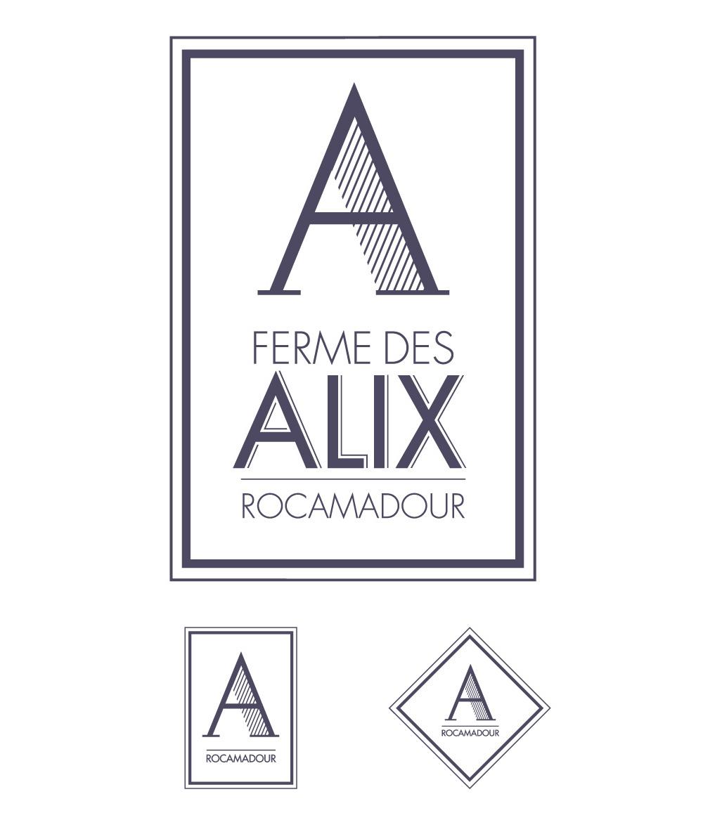 logo Ferme des Alix à Rocamadour