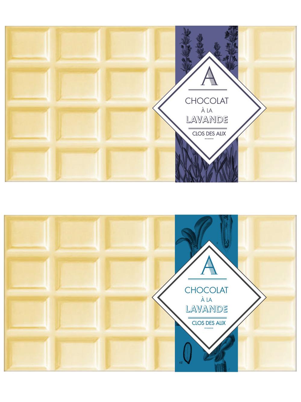 Chocolat à la lavande Ferme des Alix à Rocamadour