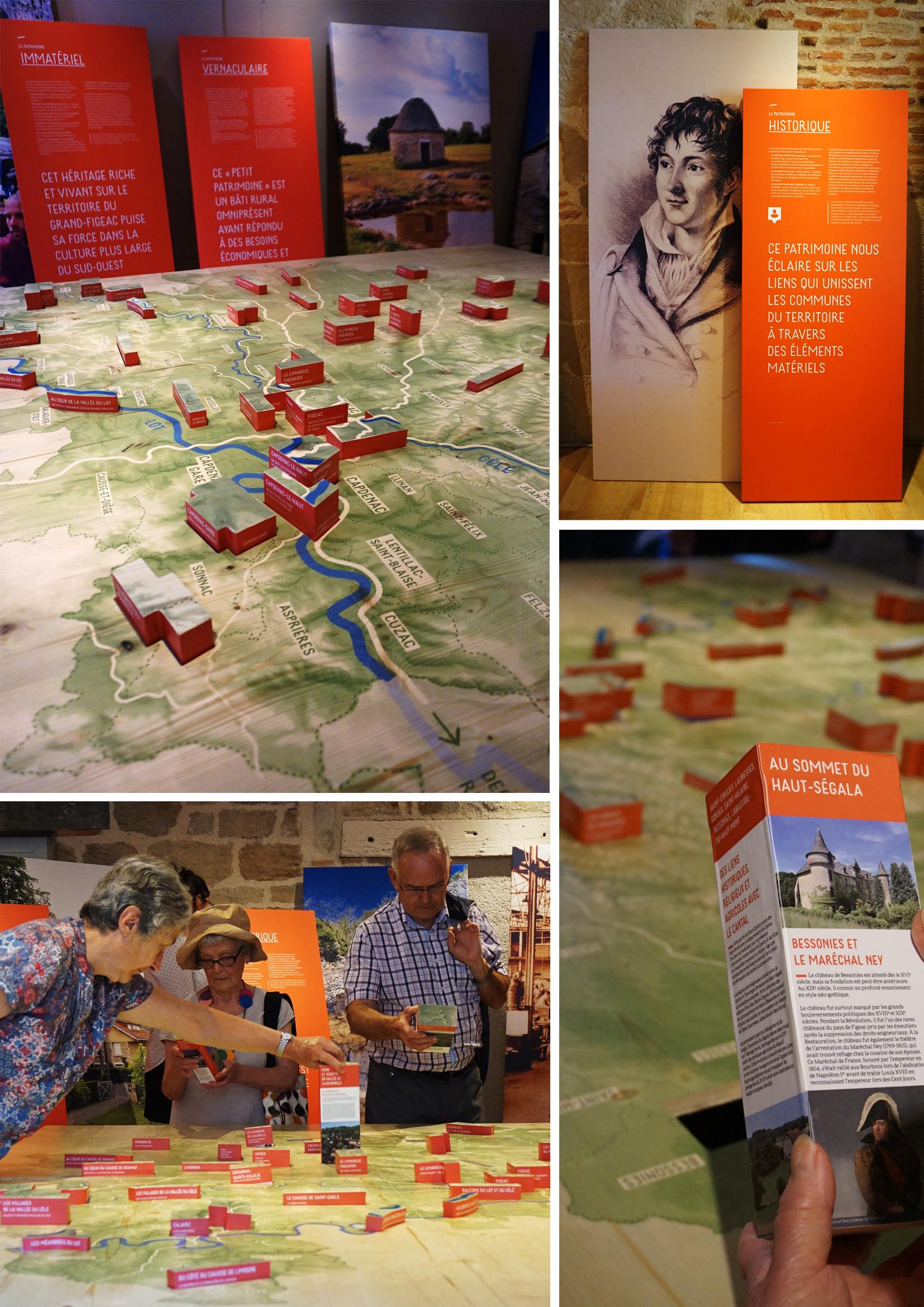 exposition itinérante Vallées du Lot et du Célé - Portrait d'un Pays d'Art et d'Histoire